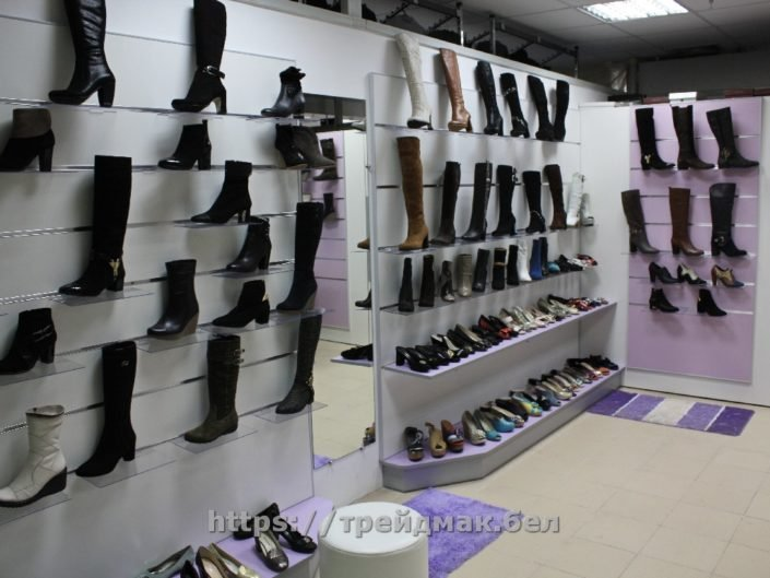 оборудование для магазина обуви