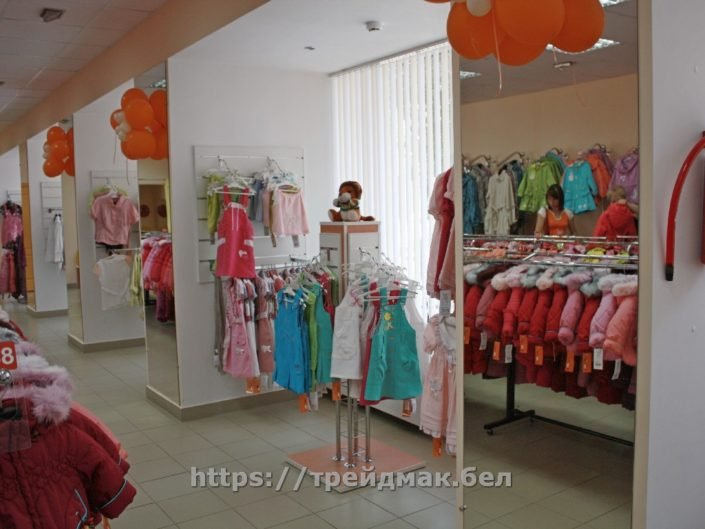оборудование для детского магазина одежды