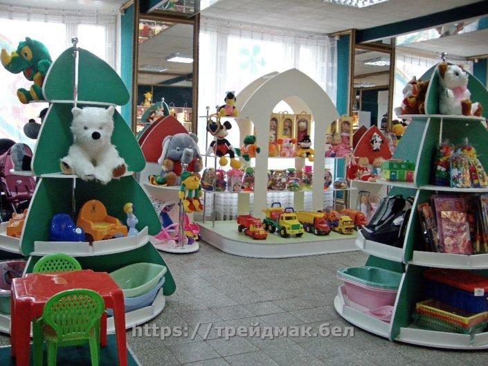 Оборудование для магазина игрушек