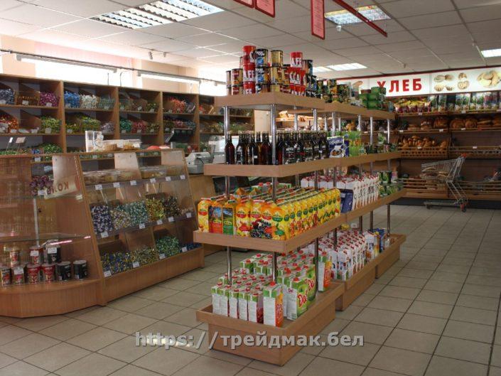 торговое оборудование магазина продуктов