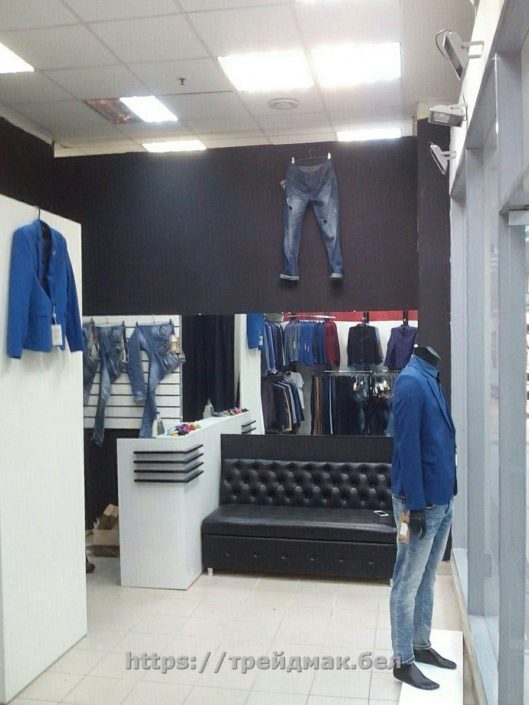 торговое оборудование магазина одежды