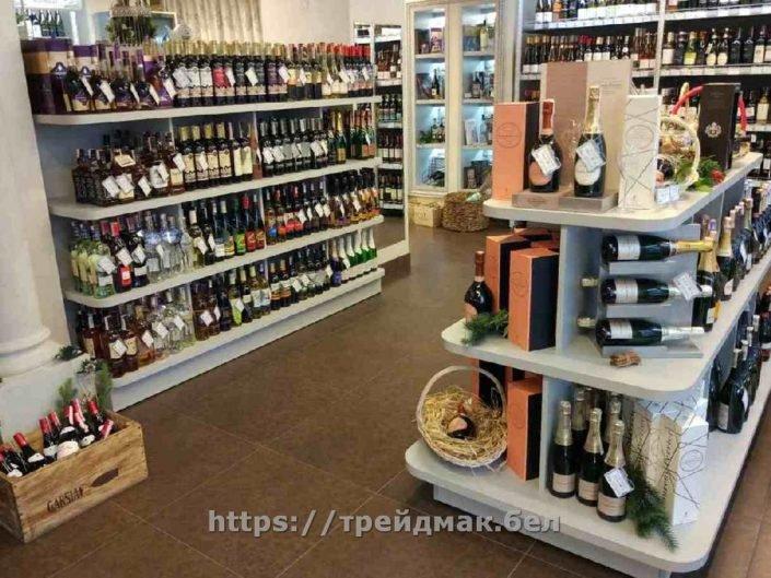 магазин алкоголя мебель