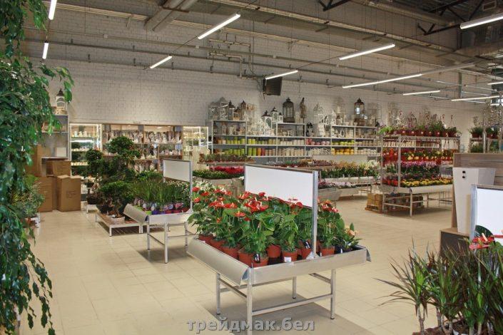 Стеллажи для магазина цветов