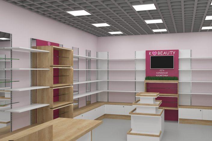 Оборудование для магазина косметики