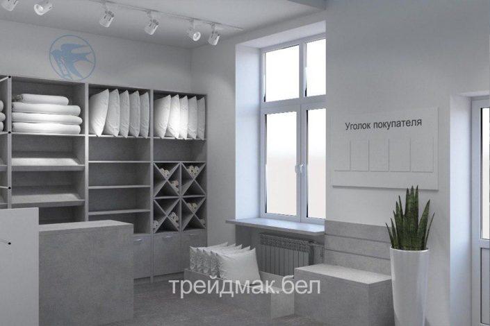 Магазин по продаже текстильной одежды в Беларуси