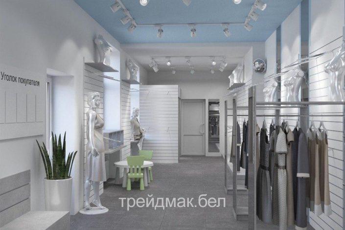 Магазин одежды в Орше из дсп быстро