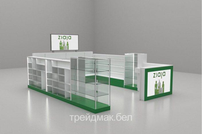 Производство торговой мебели выстовочного оборудования и витрин из стекла в минске